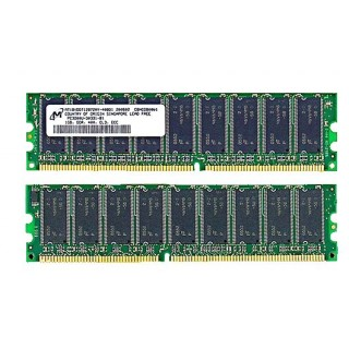 661-3171 DIMM, SDRAM, 1 GB, PC3200 ECC-DDR400 -  Xserve January 2005 A1070