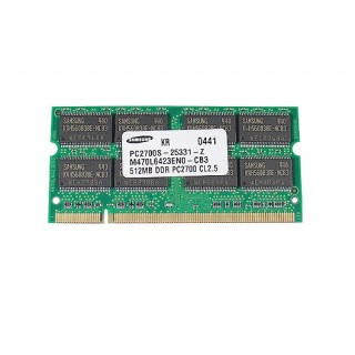 661-3324 SDRAM, 512 MB, DDR, SO-DIMM -  12inch 1.33GHz PowerBook G4 A1012