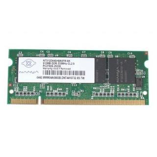 661-3473 SDRAM, 512 MB, DDR 333, SO-DIMM - 12inch 1.2GHz - 14inch 1.33GHz iBook G6