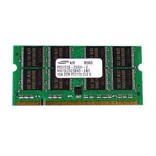 661-3488 SDRAM,1GB,DDR333,SODIMM -  15inch 1.5-1.67GHz PowerBook G4 A1108