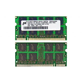 661-3808 SDRAM,1GB,DDR2 533, SODIMM - 15inch 17inch DL-SD PowerBook G6