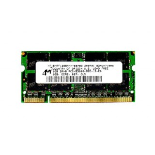 661-3892 SDRAM, 1 GB, 667 MHz DDR2, SO-DIMM - 17-20inch iMac 1.83-2GHz CoreDuo Early 2008