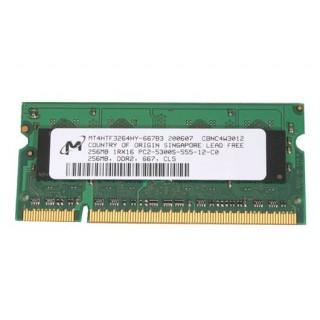 661-3911 Memory, SDRAM, 256MB, DDR2 667,  SO-DIMM - Mac Mini Early - Late 2008