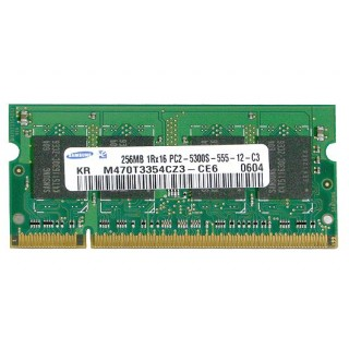661-3960 SDRAM, 256 MB, DDR2, 667, SO-DIMM -  13inch Macbook 1.83-2GHz Core Duo A1183