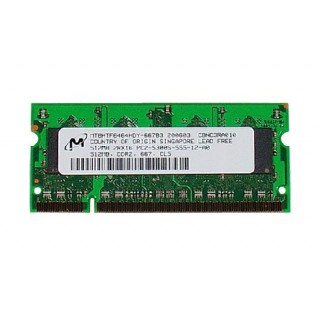 661-3993 SDRAM, 512MB, DDR2-667, SO-DIMM -  17inch 2.16GHz Core Duo Macbook Pro A1153