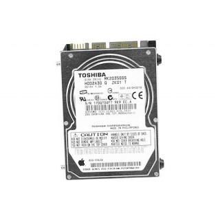 661-4134 Hard Drive, 200GB, 4200rpm, 2.5-inch SATA - 15inch 2-2.16-2.2-2.4-2.6GHz Macbook Pro