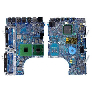 661-4220 Logic Board 2 GHz Black, with Heatsink -  13inch Macbook Core Duo A1183