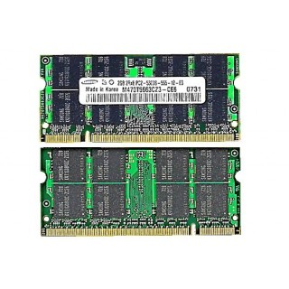 661-4338 SDRAM, 2GB, DDR2-667, SO-DIMM -  15inch 2.2-2.4-2.6GHz Macbook Pro A1228