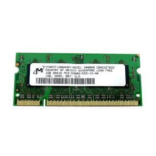 661-4365 SDRAM, 1GB, DDR2-667, SO-DIMM -  17inch 2.4GHz 2.6GHz Macbook Pro A1231