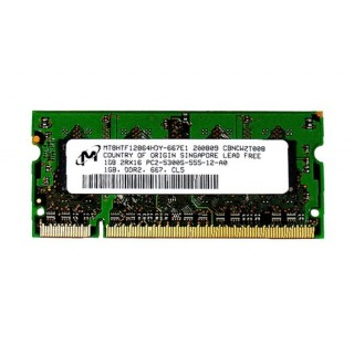661-4394 SDRAM, 1 GB, DDR2, 667, SO-DIMM -  Macbook 2GHz-2.16GHz Core2Duo Mid 2007 A1183
