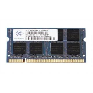 661-4424 SDRAM, SO-DIMM, 1GB, DDR2, 667 - 20inch 2.0-2.4GHz - 24inch 2.4-2.8GHz iMac Mid 2009