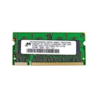 661-4705 SDRAM, 512 MB, DDR2 667, SO-DIMM - Macbook Early 2008 - Late 2010