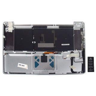 661-5041 Top Case, with Keyboard, Backlit, US - 17inch Macbook Pro Early - Mid 2011