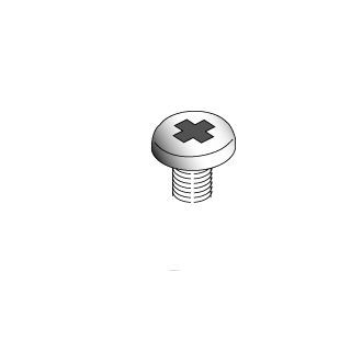 922-3259 Screw, M3, Pan, Pkg. of 10 -  Xserve RAID (SFP) A1006