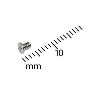 922-6910 Screw, 2 x 0.4 x 3 mm, D3.5, H0.3 -  12inch 1.33GHz iBook G4 A1135