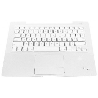 922-7754  Macbook 13-inch 1.83-2GHz Core Duo A1181Top Case with Keyboard, White, Version 2 -