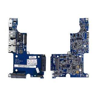 922-7911 Left I-O Board (Sound-DC-In Board) -  15inch 2.16-2.33GHz Macbook Pro Core2Duo A1153