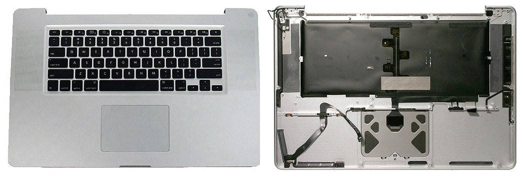 separation shoes 841f0 9d1a2 661-6076 Housing, Top Case, with Keyboard, US - 15inch MacBook Pro ...