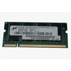 661-3323 SDRAM, 256 MB, DDR, SO-DIMM -  12inch 1.33GHz PowerBook G4 A1012