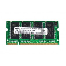 661-3532 SDRAM, 256 MB, DDR 333, SO-DIMM -  12inch 1.5GHz PowerBook G4 A1106
