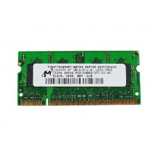 661-3961 SDRAM, 512 MB, DDR2, 667, SO-DIMM -  13inch Macbook 1.83-2GHz Core Duo A1183