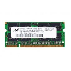 661-3962 SDRAM, 1 GB, DDR2, 667, SO-DIMM -  13inch Macbook 1.83-2GHz Core Duo A1183
