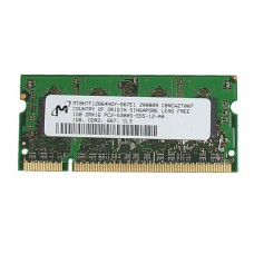 661-3978 SDRAM, 1GB, DDR2-667, SO-DIMM -  17inch 2.16GHz Core Duo Macbook Pro A1153