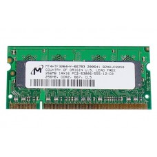 661-4212 SDRAM, 256 MB, DDR2, 667, SO-DIMM -  13inch Macbook 1.83-2GHz Core2Duo Late 2006 A1183