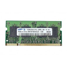661-4213 SDRAM, 512 MB, DDR2, 667, SO-DIMM -  13inch Macbook 1.83-2GHz Core2Duo Late 2006 A1183