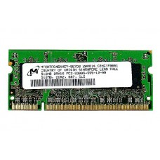 661-4393 SDRAM, 512 MB, DDR2, 667, SO-DIMM -  Macbook 2GHz-2.16GHz Core2Duo Mid 2007 A1183